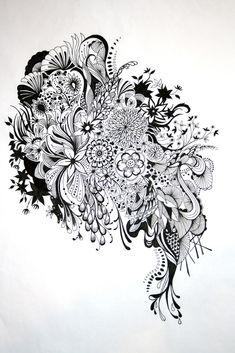 Inked by Johanna Basford at Coroflot.com