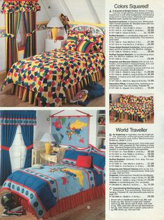 Was this your bedroom? It was? Don't worry, I won't tell anyone. | The 21 Most Embarrassing Pages Of The 1993 J.C. Penney Fall Catalog