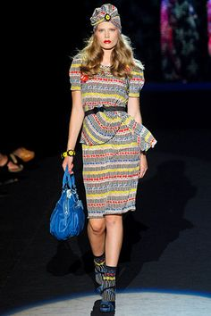 Anna Sui Spring 2012.  Minus the turban and boots