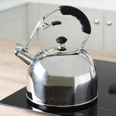Stovetop Kettle 2L Closed Black Handle £35 from ProCook