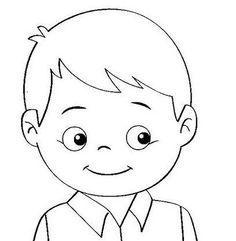Okul Oncesi Erkek Resmi Boyama Coloring Free To Print