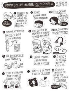 Instrucciones para ser un mejor ciudadano, según Frannerd.