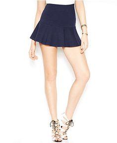 GUESS A-Line Mini Skirt - GUESS? - Women - Macy's
