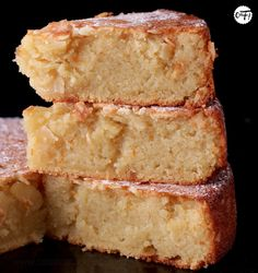 Sweet Recipes, Cake Recipes, Dessert Recipes, No Cook Desserts, No Cook Meals, Chefs, French Sweets, Almond Cakes, Pastry Cake