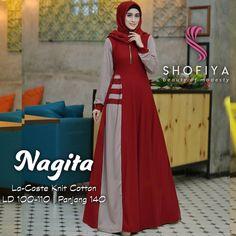 Image may contain: 1 person Stylish Dress Designs, Stylish Dresses, Modest Dresses, Batik Fashion, Abaya Fashion, Women's Fashion Dresses, Hijabi Gowns, Hijab Fashion Summer, Hijab Style Dress