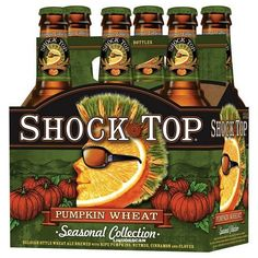 Pumpkin wheat shock top beer