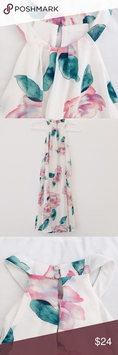 Floral shift dress Floral shift dress one clothing Dresses Midi