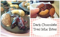 Allison's Skinny Jeans: Dark Chocolate Trail Mix Bites