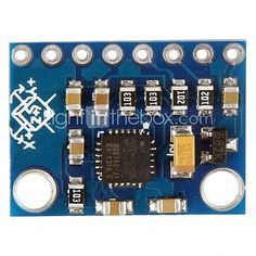 USD $ 6.99 - GY-521 MPU-6050 Module 3 Axis Gyroscope + Accelerometer for (For Arduino) - Blue