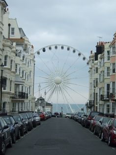 Brighton - My Home :) Brighton Rock, Brighton And Hove, Brighton Sussex, Brighton England, Oh The Places You'll Go, Places To Travel, Places To Visit, British Seaside, British Isles