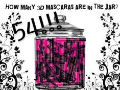 3d Mascara, Beverages, Drinks, Coca Cola, Soda, Jar, Canning, Beauty, Drinking