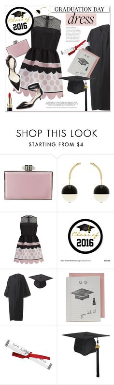"""Graduation Day Pretty Dress"" by akchesunel ❤ liked on Polyvore featuring Judith Leiber, Marni, RED Valentino, 3.1 Phillip Lim, White Label, Dolce&Gabbana, cute, pretty, dress and graduationdaydress"