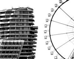 Riesenrad trifft Wohnturm