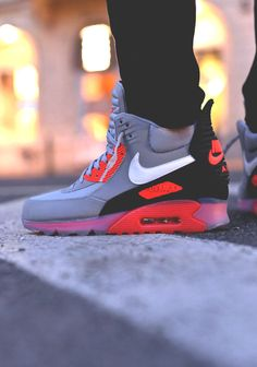 Nike Air Max 90 Sneakerboot Infrared
