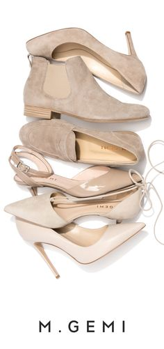 Fresh from Italy each week. Explore our collection of neutral flats, moccasins, pumps and boots. This makes me happy Zapatos Shoes, Shoes Heels, Pumps, Cute Shoes, Me Too Shoes, Neutral Flats, How To Have Style, Fashion Shoes, Fashion Accessories