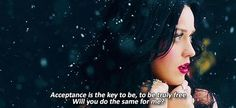 Unconditionally - Katy Perry. Love this song…and the video is amazing!