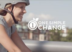 See how Julia cycles her way towards One Simple Change by integrating exercise into her daily commute. It's the little changes that go a long way. Join the conversation using the hashtag #OneSimpleChange on Facebook, Twitter and Instagram!