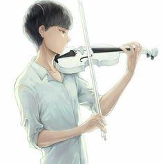 Cool violinist