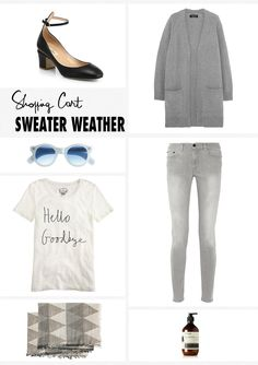 Shopping Cart: Sweater Weather