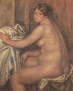 Renoir, Pierre-Auguste: Der Badegast - Gemeinfrei