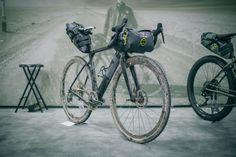 3T Exploro bikepacking bike, Apidura Bags