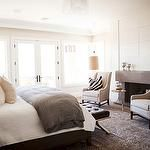 Bedroom Fireplace, Transitional, bedroom, Alice Lane Home Chic Master Bedroom, Master Bedroom Design, Home Bedroom, Bedroom Decor, Master Suite, Calm Bedroom, Light Bedroom, Pretty Bedroom, Master Bedrooms