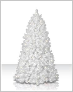 Shimmering White Artificial Christmas Tree