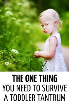 The one thing you need to survive a toddler tantrum. Toddler Discipline, Positive Discipline, Parenting Toddlers, Parenting Advice, Practical Parenting, Foster Parenting, Parenting Classes, Gentle Parenting, Toddler Preschool