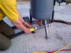 sandblaster,shotblaster used reconditioned how it works