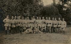 Reserve-Jäger-Bataillon Nr. 9 R Aufgestellt in Ratzeburg v. Jg.-Btl.Nr. 9 Unterstellung: 18. Res.Div. Kommandeur:Hauptmann Mantius Verluste:11 Offz., 441 Objg. u. Jg.