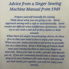 Is this where I have been going wrong? A friend saw this and thought of me. Let us address the points one by one. Prepare yourself mentally for sewing. Think ab. Sewing Hacks, Sewing Tutorials, Sewing Projects, Sewing Ideas, Sewing Tips, Sewing Crafts, Art Projects, Sewing Room Storage, Sewing Rooms
