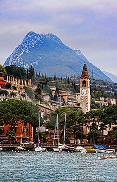 Toscolano Maderno by Lake Garda, Italy (Maderno, Lago di Garda, Italia)