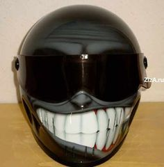 Cartoon Helmet...Nice
