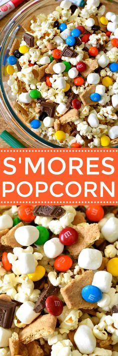 S'mores Popcorn and
