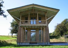 """The architecture of Simón Vélez pioneers """"new ways of using bamboo""""."""