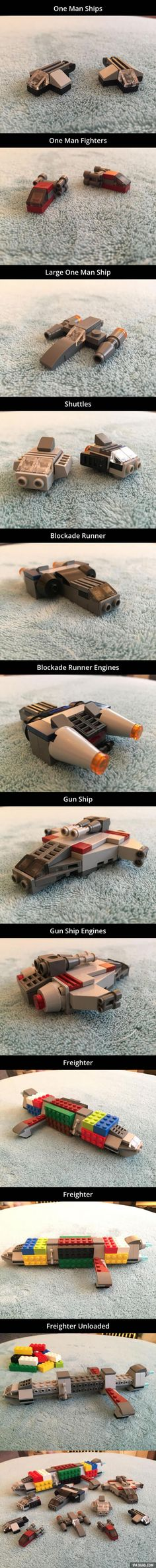 Lego Micro Space