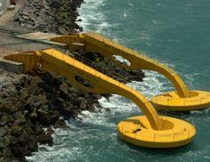 INTERNACIONALES Brasil da un paso adelante y obtiene energía del mar Es un gran avance para el país limítrofe, que generará energía del movimiento del mar