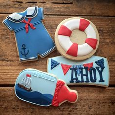 nautical baby onesie - LOVE the baby bottle & sailor suit onesie! - nautical baby onesie – LOVE the baby bottle & sailor suit onesie! No Bake Sugar Cookies, Fancy Cookies, Cute Cookies, Iced Cookies, Heart Cookies, Valentine Cookies, Easter Cookies, Birthday Cookies, Christmas Cookies