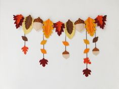Fall Paper Crafts, Fall Arts And Crafts, Autumn Crafts, Thanksgiving Crafts, Felt Crafts, Kids Crafts, Crafts For Seniors, Fall Crafts For Kids, Diy For Kids