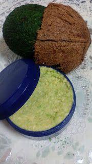 100% Natural: Mascarilla de aguacate y aceite de coco para la ca...