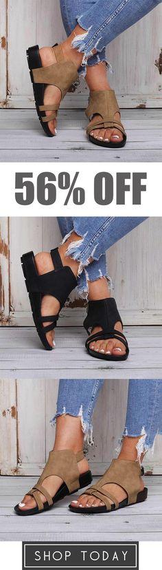 03d2c4f3757e00 Comfy Sole Buckle Strap Beach Sandals
