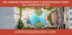 Furnished Apartments, Medical Center, Houston, Vacation, Projects, Log Projects, Vacations, Holiday, Holidays
