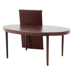 1stdibs - Oval Rosewood dining table with two extension leaves explore items from 1,700  global dealers at 1stdibs.com
