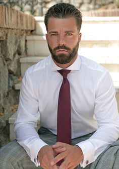 Hector de Silva. His hair, eyebrows, moustache and beard.