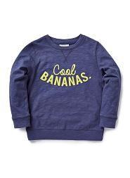 Cool Bananas Slub Sweat