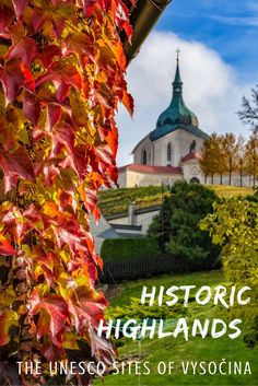 The UNESCO Sites of Vysocina Czech Republic - Visit the idyllic Vysocina region, and its UNESCO sites, in the Czech Republic on a day trip from Prague! Travel Info, Travel Plan, Travel Articles, Travel Guides, Travel Tips, Slow Travel, Time Travel, Places To Travel, Travel Europe