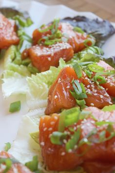 Thaimarinoidut avokado-lohiwrapit | Kulinaari Takana, Feta, Risotto, Chili, Dairy, Food And Drink, Cheese, Chile, Chilis