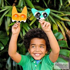 Carton Critters: Got egg cartons? Turn them into these forest-animal finger puppets.