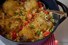 Fotorecept| Kura dusené na ryži