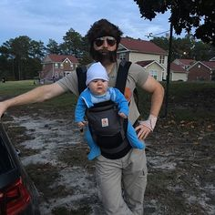 Pin for Later: 42 Adorable Halloween Costumes For Baby-Wearing Parents Carlos (The Hangover)